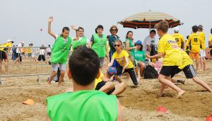 Beachtchoukball in Rimini